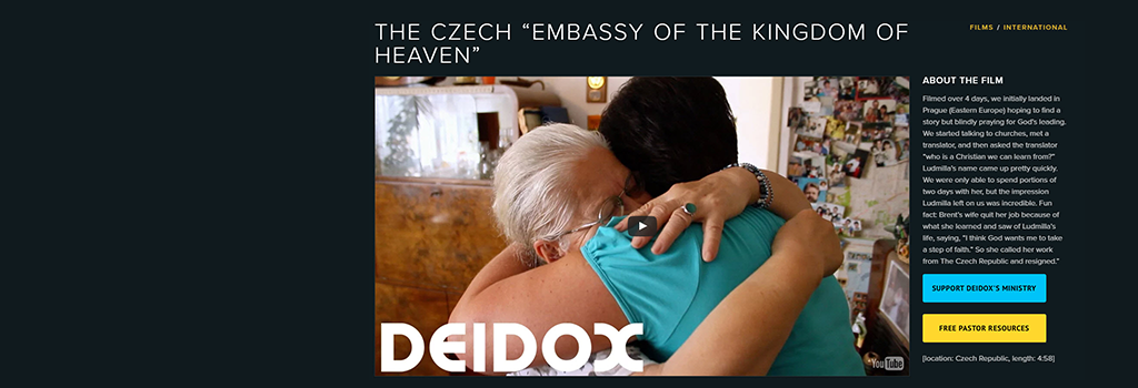"THE CZECH ""EMBASSY OF THE KINGDOM OF HEAVEN"