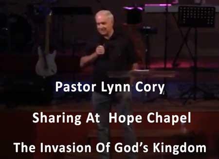 Pastor Lynn Cory Sharing The Vision At Hope Chapel