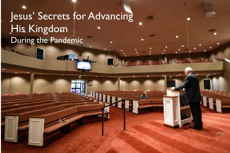 Jesus secrets during pandemic neighborhood initiative
